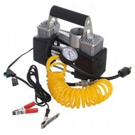 Automobilinis oro kompresorius 12V 2 cilindrai 85 L/min