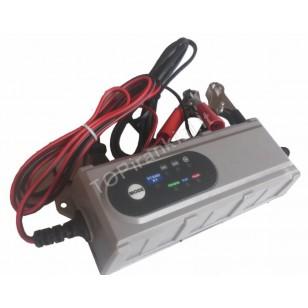Mikroprocesinis 6/12 V automobilinis akumuliatoriaus įkroviklis (B6001)