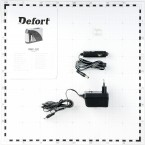Akumuliatorių įkroviklis DEFORT DBC-12C