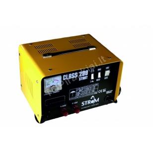 Akumuliatorių įkroviklis su paleidimo funkcija STROM (CLASS200)