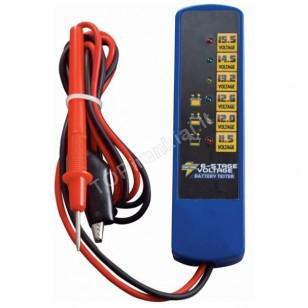 12V Led testeris baterijoms ir generatoriams skaitmeninis