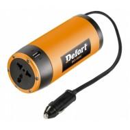 Automobilinis įtampos keitiklis ( inverteris ) Defort DCI-305C