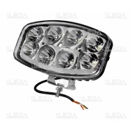Darbinis LED Žibintas 64W/combo