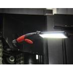 Darbo lempa akumuliatorinė lanksti | labai plona | COB-LED | 5W (6783)