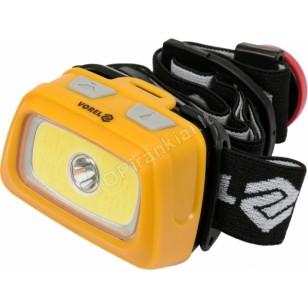 Prožektorius dedamas ant galvos XPE CREE 3W + COB LED 3W (88678)
