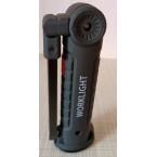 Darbo lempa akumuliatorinė | aluminis +ABS+Guma | 3W COB | USB (FD-8652)