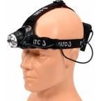 Prožektorius dedamas ant galvos XM-L2 CREE 10W LED (YT-08591)