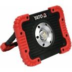 Akumuliatorinis šviesos diodų prožektorius 10W 800lm (YT-81820)