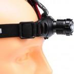 Prožektorius dedamas ant galvos su didelės galios diodu 3W, 100lm
