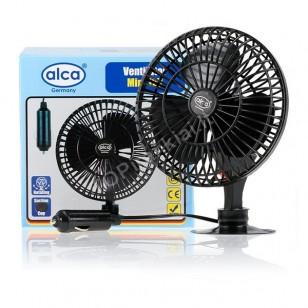 Alca 524000 ventiliatorius Mini 12V besisukantis
