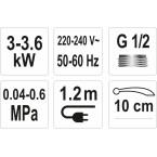 Elektrinis momentinis vandens šildytuvas 3000W STROKKUR-2 (75931)