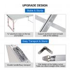 Sulankstomas stalas aliuminis | reguliuojamas aukštis (LC01)