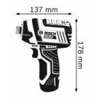 Akumuliatorinis smūginis suktuvas GDR 10,8 V-LI Professional