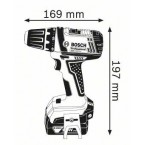 Akumuliatorinis suktuvas-gręžtuvas GSR 14,4-2-Li Professional