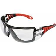 Apsauginiai akiniai bespalviai su diržu (YT-73700)