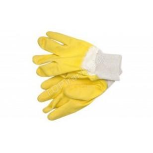 Pirštinės guminės neperpjaunamos geltonos 10.5 GREIFER 74160