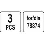 Dulkių maišai siurbliui | 20 l | YT-78874 ir kt. | 3 vnt. (YT-85733)