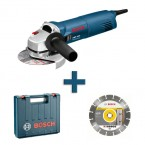 Kampinis šlifuoklis Bosch GWS 1400 Professional