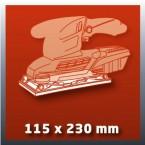 Plokštuminis šlifuoklis Einhell RT-OS 30
