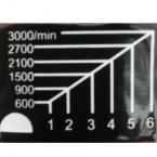 Poliruoklis kampinis, 180mm (CP12180)