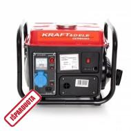 Benzininis generatorius be ratukų 1200W (KD109)