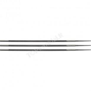 Dildelių rinkinys grandininiams pjūklams galąsti 4,8 mm, 3 vnt