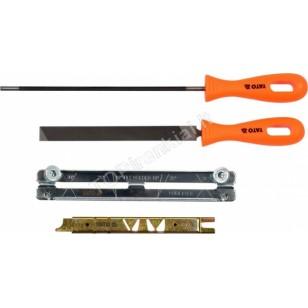 Pjūklo grandinės galandimo rinkinys | 4.0 mm | 4 vnt. (YT-85040)