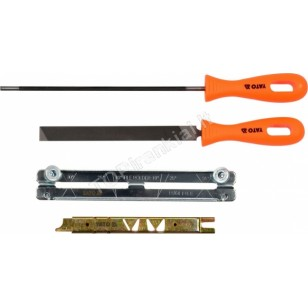 Pjūklo grandinės galandimo rinkinys | 4.8 mm | 4 vnt. (YT-85042)