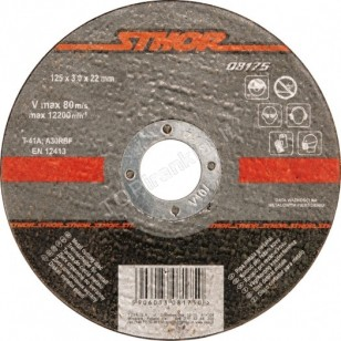 Pjovimo diskas metalo pjaustymui 230 x 3,0 x 22mm Sthor