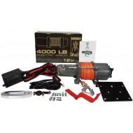 Traukimo gervė 4000LBS, 1814KG, 12V/sintetinis lynas/ (M80800)