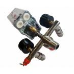 Reguliatorius kompresoriui su slėgio jungikliu ir manometrais | 380V (SK10679B)