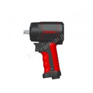 Pneumatinis smūginis veržliasukis | 12,5 mm (1/2) | 1084 Nm | trumpas (BW-112F3)