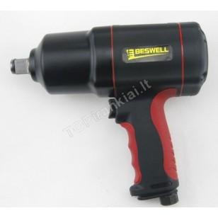 Pneumatinis smūginis veržliasukis | 20 mm (3/4) | 1626 Nm (BW-134E)