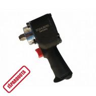 """Pneumatinis smūginis veržliasukis siauras (93mm) 1/2"""", 680 Nm su 5 galvutėm (H2603)"""