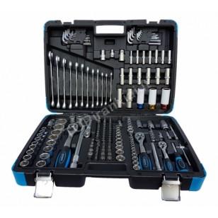 Įrankių rinkinys | 6.3 mm (1/4) / 10 mm (3/8) / 12,5 mm (1/2) | 176 vnt. (KR121176B)