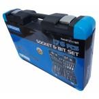 Įrankių rinkinys | Terkšliniai veržliarakčiai | 6.3 mm (1/4) / 10 mm (3/8) / 12,5 mm (1/2) | 176 vnt.