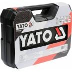 Galvučių ir įrankių rinkinys 1/2 + 1/4 94 dalių Yato (YT-12681)