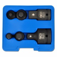 """Smūginių adapterių rinkinys 6 vnt, 1/4"""", 3/8"""", 1/2"""", 3/4"""", """"Bgs-technic"""" (200)"""