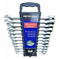 Terkšlinių raktų rinkinys | 8-19 mm | 12 vnt. (SK5000)