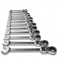 Terkšlinių raktų rinkinys | šarnyriniai | 8-19 mm | 12 vnt. (SK5012)