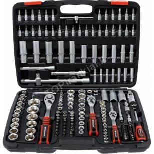 Įrankių rinkinys   6.3 mm (1/4) / 10 mm (3/8) / 12,5 mm (1/2)   172 vnt. (15219)