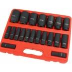 Smūginių ilgų galvučių rinkinys | 12,5 mm (1/2) | 10-38 mm | 20 vnt. (SK1220)