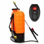 Akumuliatorinis sodo purkštuvas DEMON 16L (oranžinis) (M80203)