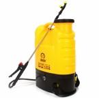 Akumuliatorinis sodo purkštuvas DEMON 16L (geltonas) (M80204)