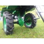 Motoblokas GREEN C11 su benzininiu varikliu (9AG)