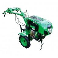 Motoblokas GREEN C12 su dyzeliniu varikliu (7AG)