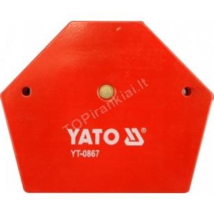 Magnetas suvirinimo kampui | 64x95x14 mm (YT-0866)