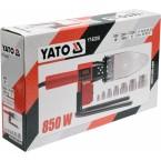 Plastikinių vamzdžių (PVC) suvirinimo aparatas 0-300C, Led ekranas, su rinkiniu (YT-82250)