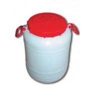 Bidonas plastikinis maistinis 25 l talpos