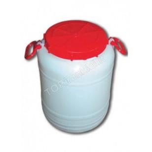 Bidonas plastikinis maistinis 50 l talpos